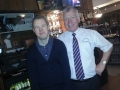 Finbar Mc Kenna with Martin in the Squealing Pig Monaghan Town