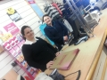 Laura Bell in Heatons Monaghan on Job shadow