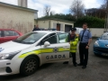 Noel Smith with Garda Peter Fahy Bailieborough Garda Station