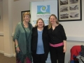 Sinead Moran with Maureen and Dara